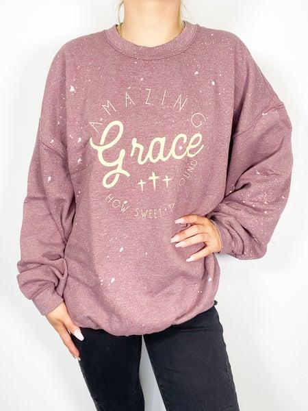 Amazing Grace Graphic Sweatshirt