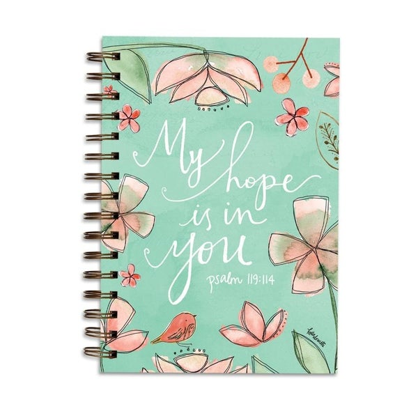 My Hope is in you Wirebound Scripture Journal