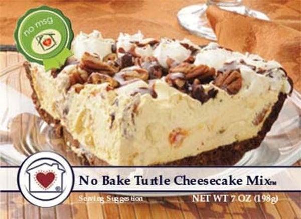 No-Bake Turtle Cheesecake Mix