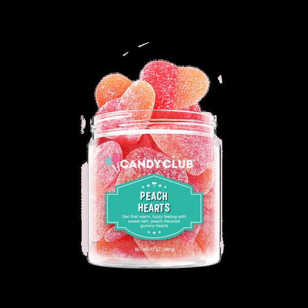 Candy Club | Peach Hearts