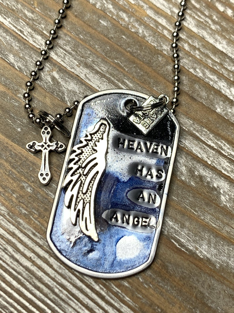 Kate Mesta Heaven Has An Angel with SIlver Angel Wing