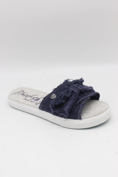 SIZE 7 ONLY - Blowfish Fondue - Pure Navy Hipster Smoked Twill