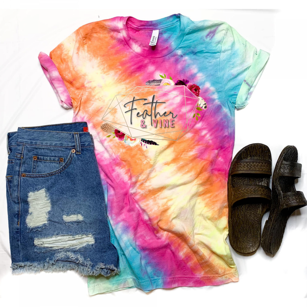 Feather and Vine | Graphic Tee