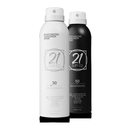 Moisturizing Sunscreen Spray {SPF 30 or 50}