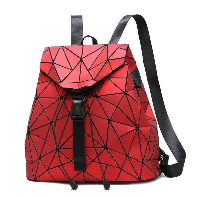 Bao Bao Miyake Inspired Geometric Backpack  ***Multiple Colors
