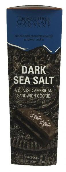 Sea Salt Dark Chocolate Covered Chocolate Cookies