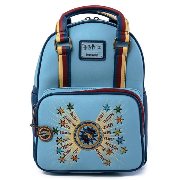 LOUNGEFLY X 2020 FALL VIRTUAL CON HARRY POTTER QUIDDITCH WORLD CUP MINI BACKPACK
