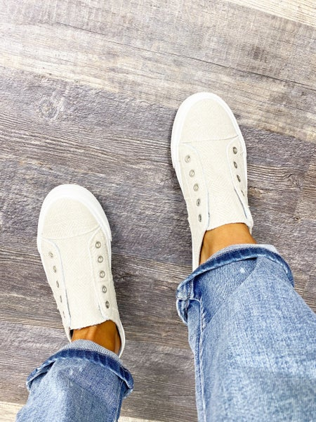 6.5 ONLY - Gypsy Jazz Natural Play Time Sneakers