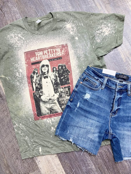 Tom Petty Bleached Graphic Tee