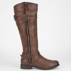 DeBlossom Pita Brown Boots