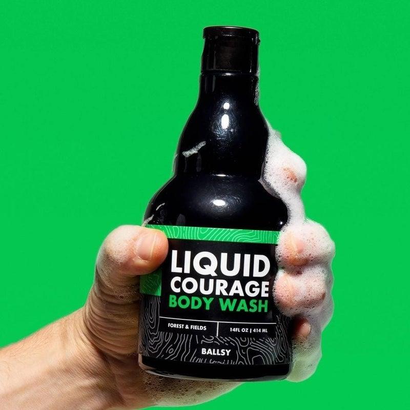 Liquid Courage Body Wash in Forest & Fields