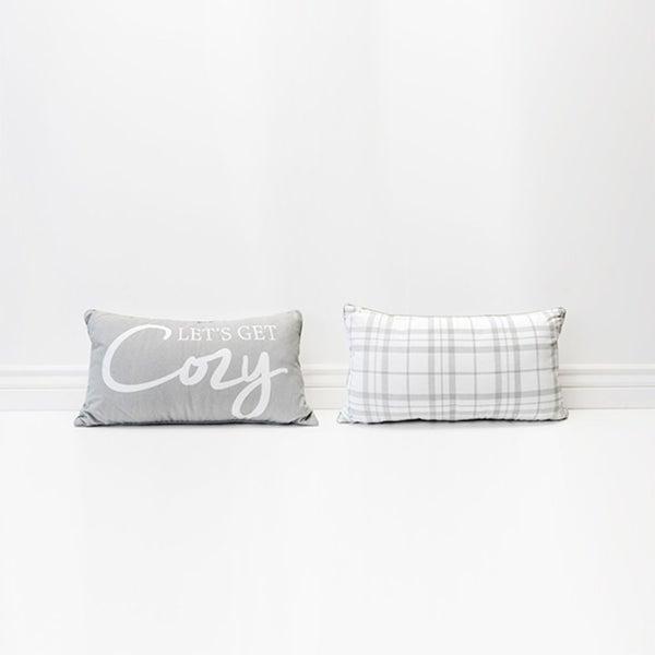 Let's Get Cozy Pillow