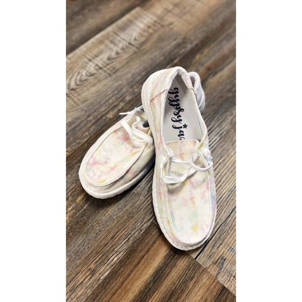 Very G Gypsy Jazz Arc Sneaker | White Multi