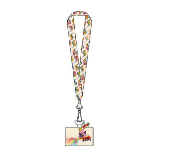 !LOUNGEFLY X PIXAR INSIDE OUT WAGON LANYARD WITH CARDHOLDER