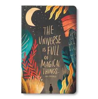 """""""The universe is full of magical things."""" Soft Cover Journal"""