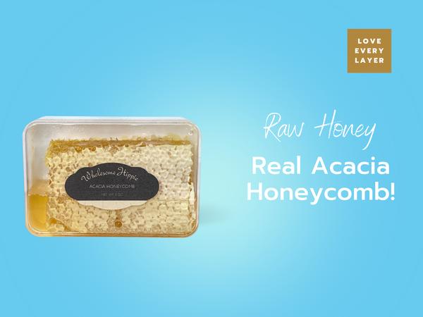 RETIRING Wholesome Hippie Acacia Honeycomb