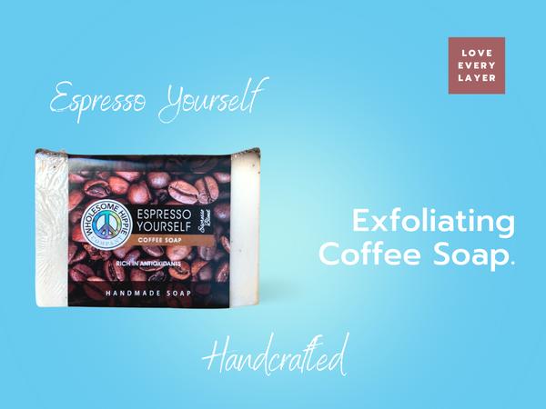 RETIRING 6.6 oz Espresso Yourself Coffee Handmade Soap