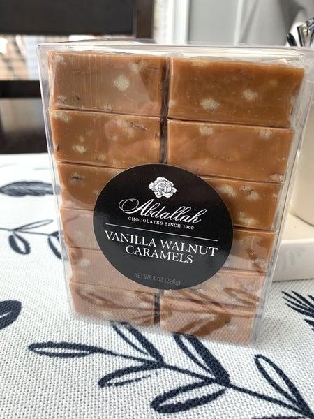 Box Vanilla Nut Wrapped Caramel