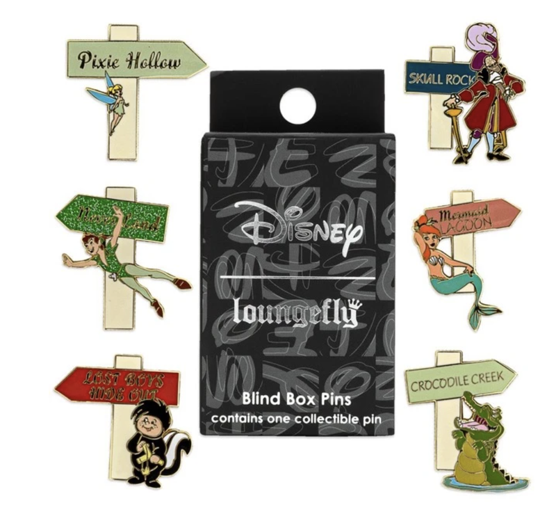 Loungefly Peter Pan Blind Box Pin