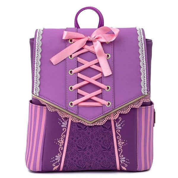 LOUNGEFLY X DISNEY TANGLED RAPUNZEL COSPLAY MINI BACKPACK