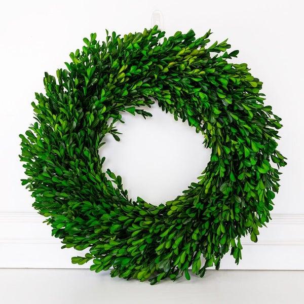 "$50 OFF!! - 21"" Boxwood Wreath"