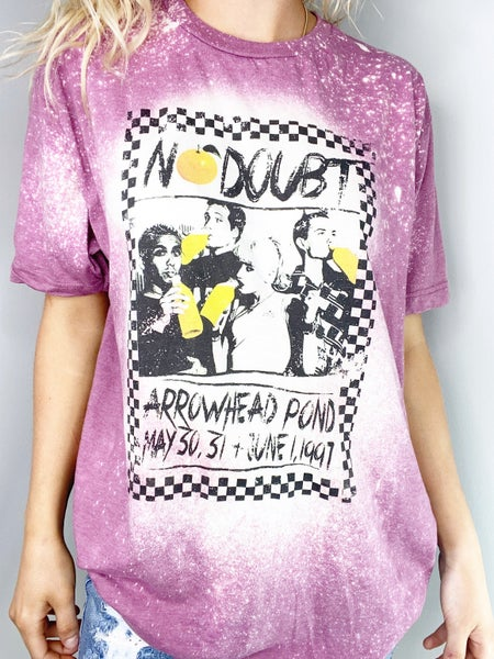 No Doubt Bleached Graphic Tee