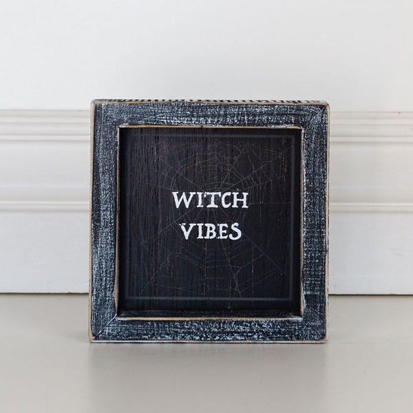 Witch Vibes Framed Sign