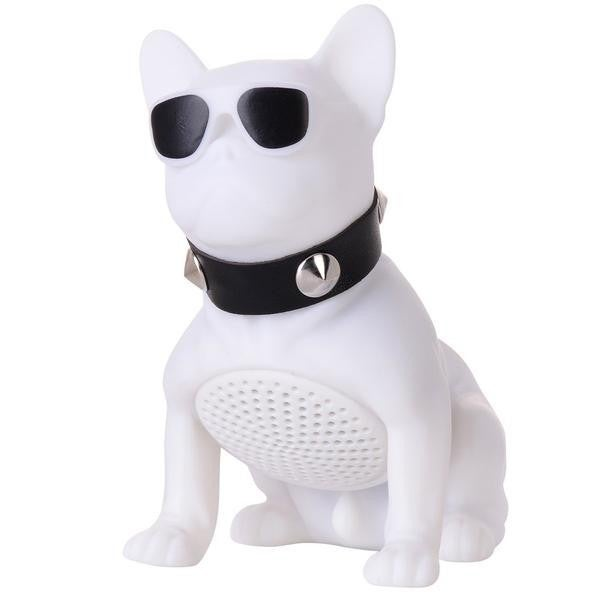 WHITE Bulldog Bluetooth Speaker