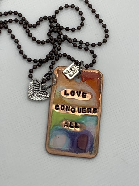 Kate Mesta Love Conquers All Necklace