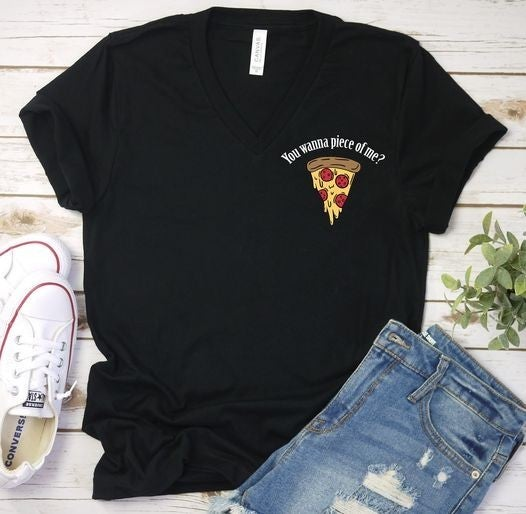 Medium ONLY - You Wanna Piece Of Me? Graphic Tee