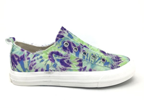 Size 6, 6.5 & 9.5 ONLY - Very G Play Along Multi Blue Slip On