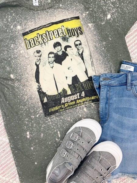 Backstreet Boys Bleached Graphic Tee