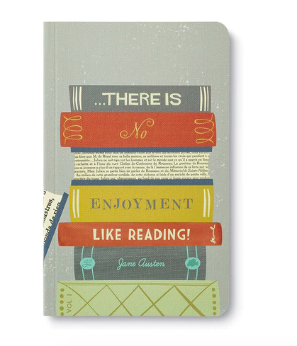 """""""There is no enjoyment like reading!""""  Soft Cover Journal"""