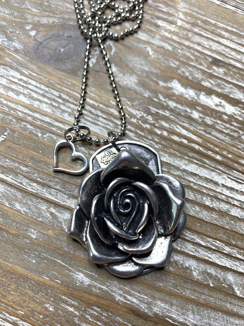 Kate Mesta Black & Silver Collection Rose