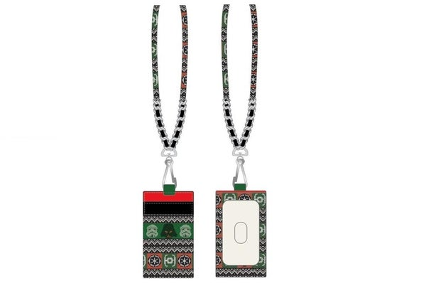 Loungefly Star Wars Fair Isle Trooper Lanyard