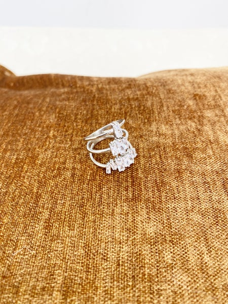 Triple Stacking Ring-Silver