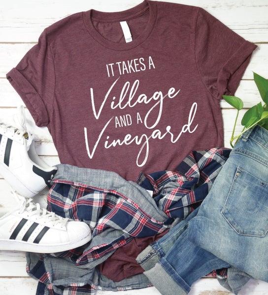Village and Vineyard Graphic Tee