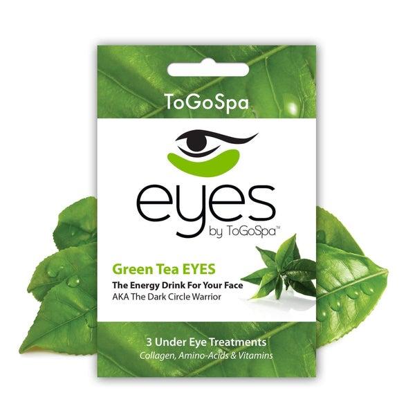 Under Eye Collagen Gel Pads - Green Tea Eyes