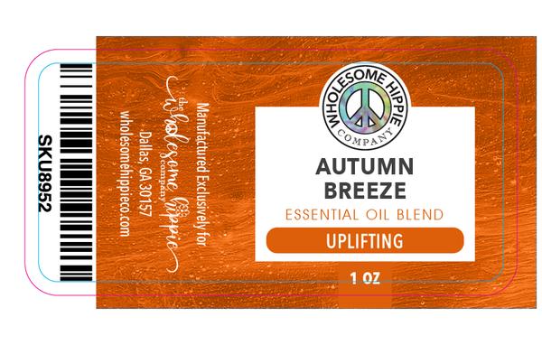 Autumn Breeze Essential Oil Blend - Uplifting - Citrus & Pine
