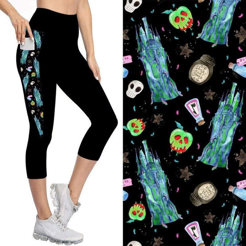 Capris with Pockets |  Evil Icons