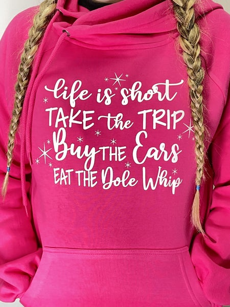 Magical Hot Pink Graphic Hoodie