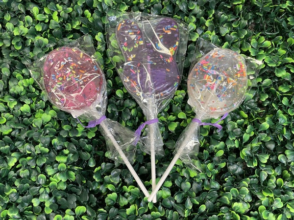 Hard Candy Easter Confetti Lollipops ***Eggs or Bunny