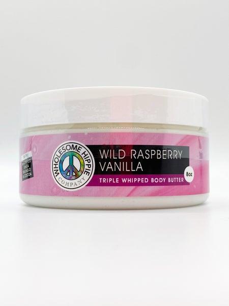8oz WH Triple Body Butter - Wild Raspberry Vanilla
