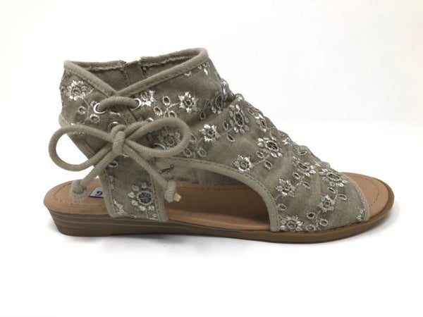 Luxe & Mix Taupe Sandals