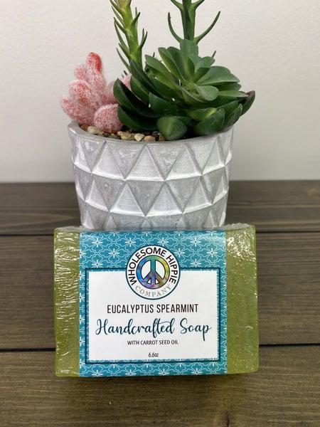 Eucalyptus Spearmint Carrot Seed Soap 6.6oz