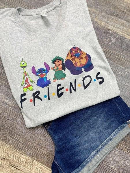 Disney Friends Graphic Tee