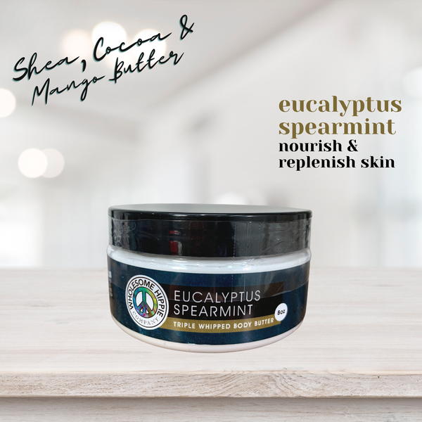 WH Eucalyptus Spearmint Body Butter - 8oz