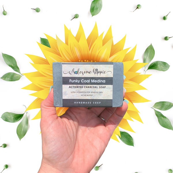 Activated Charcoal Soap - Funky Coal Medina
