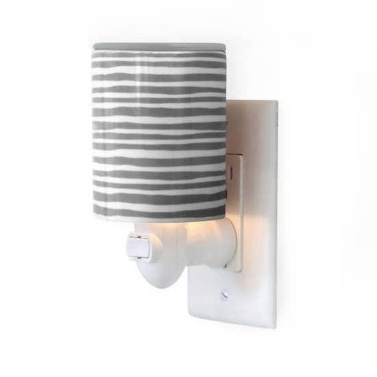 Outlet Warmer   Gray Stripe