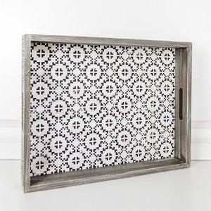 Mosaic Mooden Tray